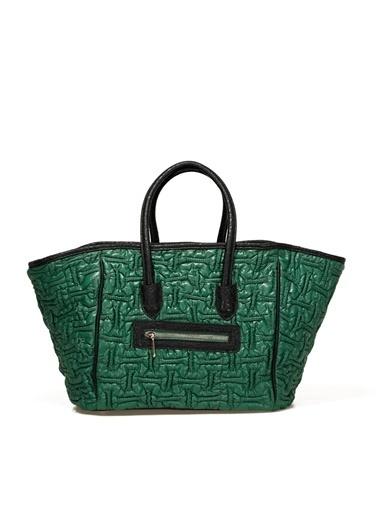 Miss F Omuz Çantası Yeşil